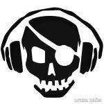Kalóz fejhallgatóval - Autómatrica