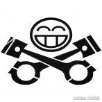 Piston vidám Smiley Autómatrica