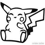 Vidám Pokémon Pikachu Autómatrica
