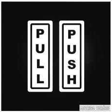 Pull Push feliratok Autómatrica