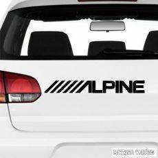 """ALPINE """"2"""" - Szélvédő matrica"""