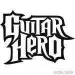 """Guitar Hero """"1"""" matrica"""