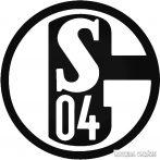 Schalke S04 csapat matrica