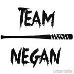 Team Negan Walking Dead Autómatrica