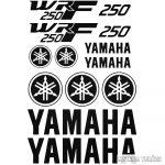 Yamaha Wrf 250 szett matrica