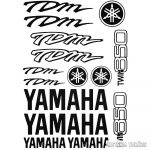 Yamaha TDM 850 szett matrica