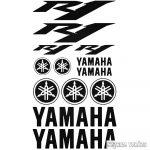 "Yamaha R1 szett ""2"" matrica"