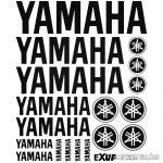 Yamaha szett matrica
