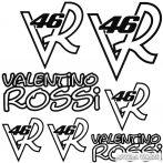 Valentino ROSSI szett - Autómatrica
