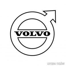 Volvo embléma matrica