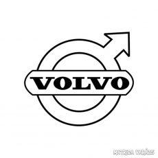 Volvo embléma matrica 2