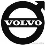 Volvo embléma matrica 4