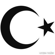 Török zászló jel Autómatrica