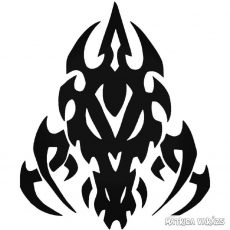 Tribal Sárkány Autómatrica