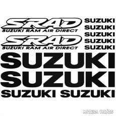 Suzuki SRAD szett matrica