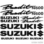 Suzuki N600 Bandit szett matrica