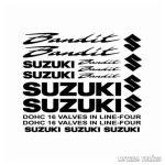 Suzuki Bandit szett matrica