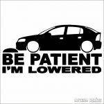Opel matrica Be Patient