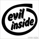 Evil Inside Autó - Autómatrica