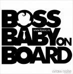 BOSS BABY ON BOARD autómatrica