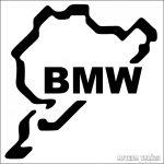 BMW Nürburgring matrica