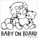 "Baby on Board ""15"" autómatrica"