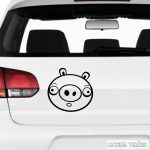 Angry Birds Bad Pig matrica