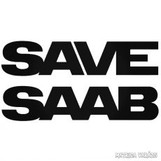 SAVE SAAB matrica
