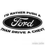 Ford matrica vicces felirat