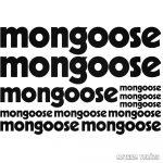 Mongoose bicikli matrica szett