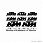 KTM Racing Team szett matrica
