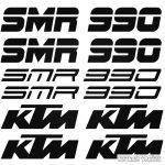 KTM 990 SMR szett matrica