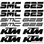 KTM 625 SMC szett matrica