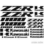 Kawasaki ZZR 1100 szett matrica