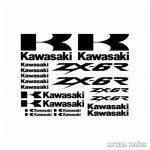 Kawasaki ZX6R 1 szett matrica