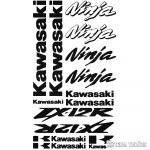 """Kawasaki ZX12R szett """"1"""" matrica"""