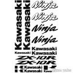 Kawasaki ZX10R szett matrica