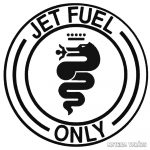 Alfa Romeo matrica Jet Fuel Only