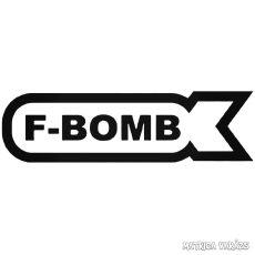 F-Bomb felirat a bombában Autómatrica