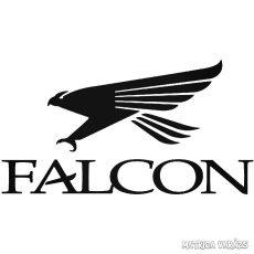 Falcon logó és felirat Autómatrica