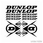 Dunlop szett - Szélvédő matrica