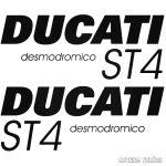 DUCATI ST4 szett matrica