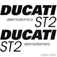 DUCATI ST2 szett matrica