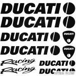 DUCATI Racing szett matrica