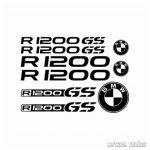 BMW R1200GS szett matrica