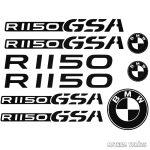 "BMW R1150 GSA ""1"" szett matrica"