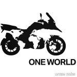 BMW ONE WORLD matrica