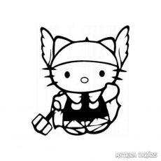 Hello Kitty matrica Thor