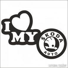 I Love My Skoda matrica 2