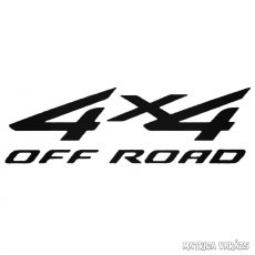 """4x4 Off Road """"17"""" - Szélvédő matrica"""